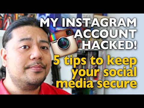 My Instagram Account was Hacked! 5 tips to secure your social media accounts - Mega Jay Retro