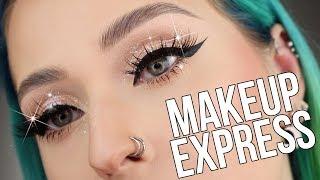 Maquillage EXPRESS pour les fêtes | Facile & Rapide