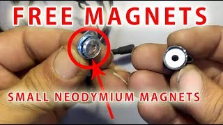 Free Small and Powerfull Magnets