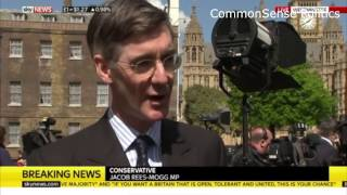 Jacob Rees-Mogg is laughing at the Tory whitewash to come