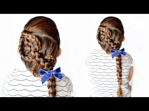 Dutch snake braid tutorial - little girl hairstyle