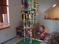 Lego Tower Destruction