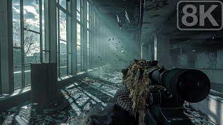 Pripyat Outskirts / Ukraine (All Ghillied up) Modern Warfare Remastered - 8K