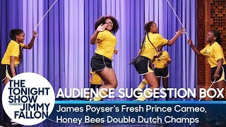 Audience Suggestion Box: James Poyser