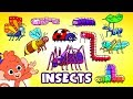 Learn Insects And Bugs For Kids Animals For Kids Club Baboo