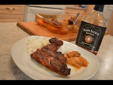How to Braise Napa Jack's Apple Cider Bourbon BBQ Pork Riblets: Wine Country Kitchens with Kimberly