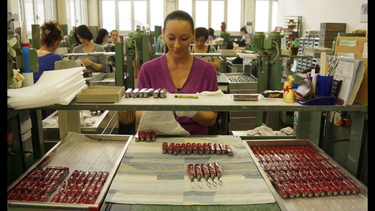 Victorinox Swiss Army Knives Production 2016 POLISH