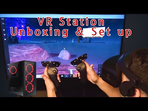 How to set up a VR Gaming PC | Unboxing and Setup | Samsung Odyssey+ Mixed Reality Headset