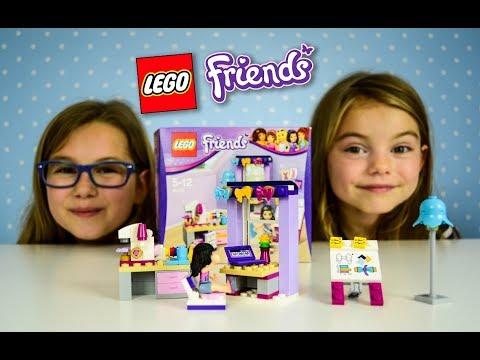 CREATING BOWS WITH EMMA Lego Friends set 41115 Emma's Creative Workshop