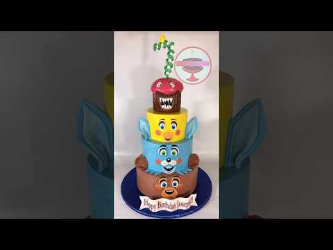 Five nights at freddys cake  - July 24, 2017