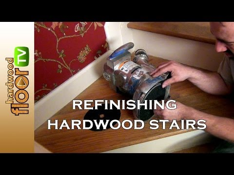 Refinishing Hardwood Stairs - How Was It Done?