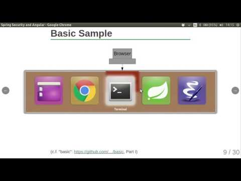 Building applications with Angular JS and Spring Security - Dave Syer