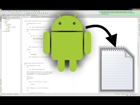 [Android - java - Tutorial] How to write and read txt-files from your Android Application