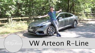 2017 VW Arteon 2.0 TSI R-Line Fahrbericht / Mehr als ein teurer VW Passat - Autophorie