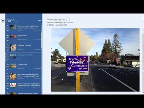 /r/etro Modern Reddit App for Windows 8