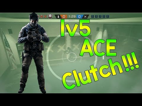 1v5 ECHO CLUTCH -  Rainbow Six Siege