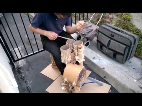 cardboard drums