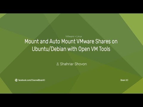 Mount/Auto Mount VMware Shares on Ubuntu/Debian with Open VM Tools