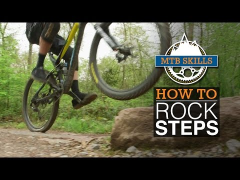 How To Climb Rock Steps - MTB Skills