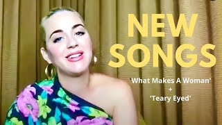 Katy Perry reveals NEW songs 'What Makes A Woman' & 'Teary Eyed' + MORE! - Interview