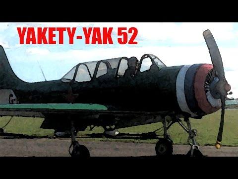 CRHnews - Yakety Yak 52  G-BZJB tuning up at RAF North Weald