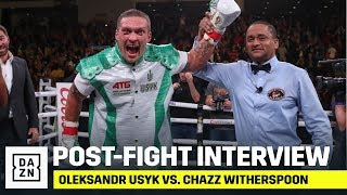 Oleksandr Usyk Has A Message For Andy Ruiz, Anthony Joshua, & Deontay Wilder