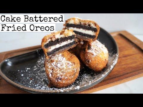 Vegan Deep Fried Oreos | Cake Battered