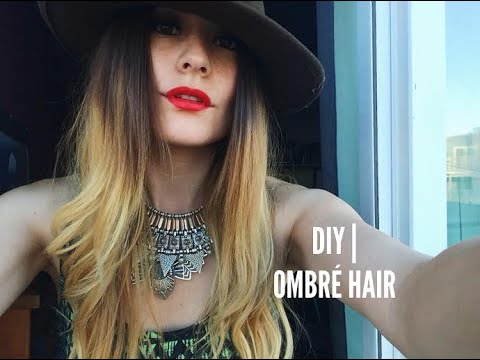 DIY| Ombre Hair (L'Oreal Paris Feria Wild Ombre Kit)
