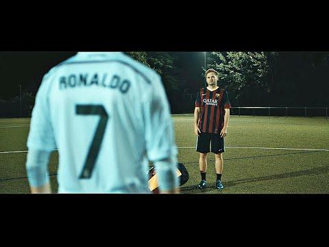 Ronaldo VS Messi - Boot Battle: Nike Superfly CR7 vs adidas Messi15 Test & Review   4K