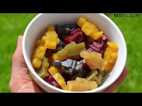 Fruit Juice Jelly Sweets