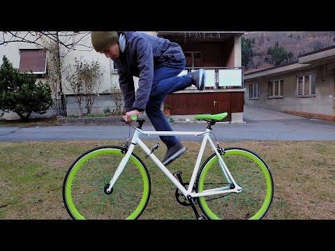 Fixed gear bike: first ride