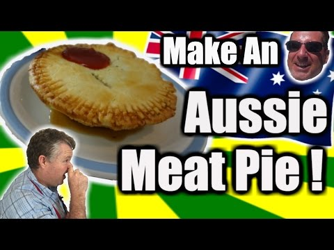 How to Make An Aussie Meat Pie! -