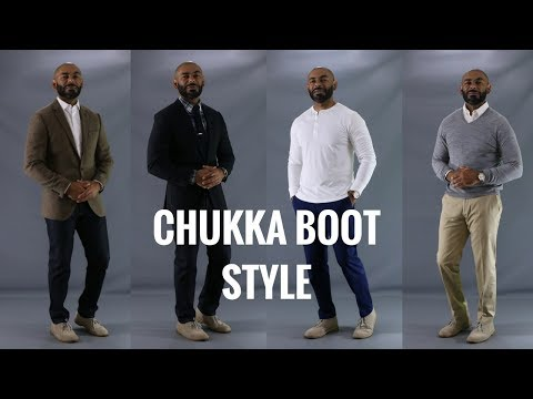 How To Style Chukka Boots/How To Wear Clarks Desert Boots