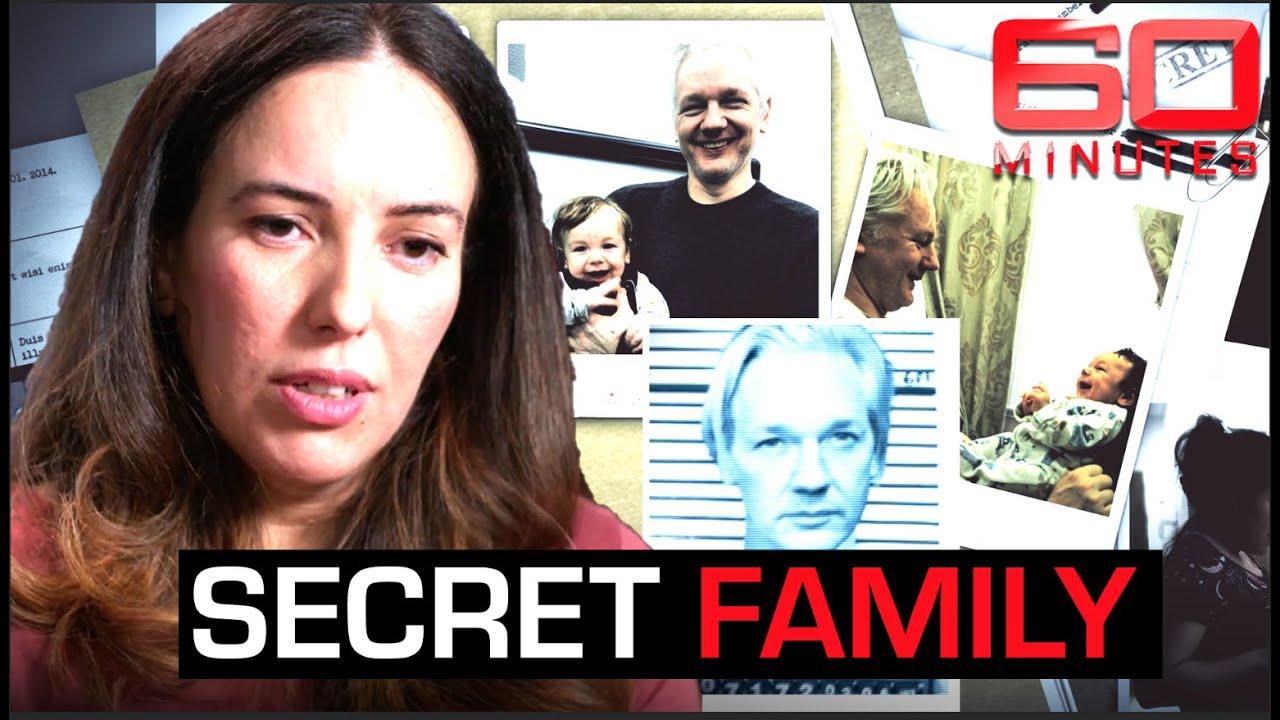 Julian Assange's hidden family revealed: top secrets inside the Embassy | 60 Minutes Australia