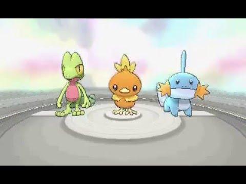 Pokémon Alpha Sapphire Walkthrough Part 1: Treecko, Torchic, or Mudkip?