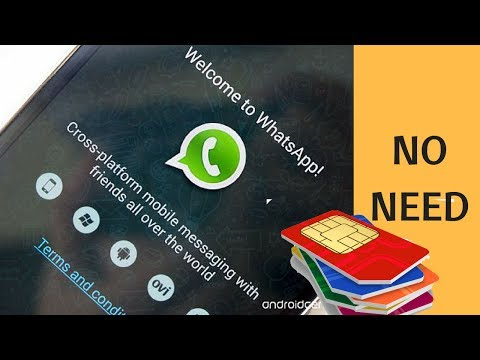 How To Use Whatsapp Without Phone Number-How To Use Whatsapp Without Sim