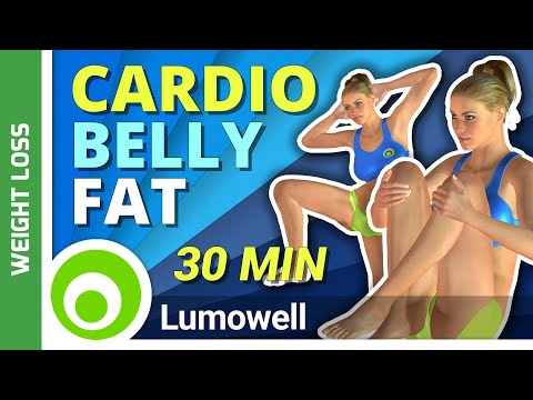 30 Minute Fat Burning Cardio Workout To Lose Belly Fat at Home