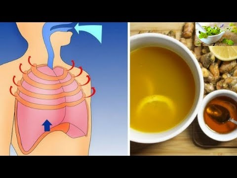 Homemade Cough And Lung Inflammation Remedy: More Powerful Than Any Cough Syrup