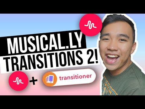 MUSICAL.LY TRANSITIONS TUTORIAL 2! (Kick, Telescope, Clone + MORE!)