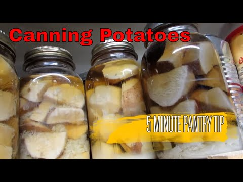 PANTRY TIPS: CANNED POTATOES! REALLY?