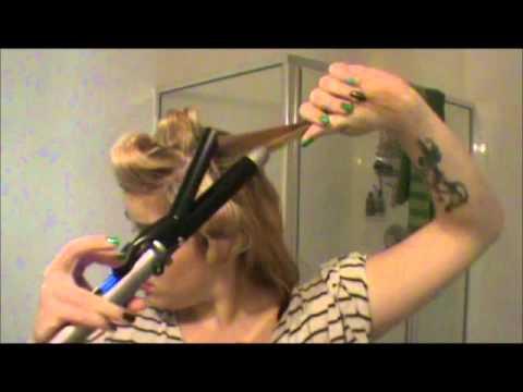 Marilyn Monroe Vintage Hair Tutorial (short or long hair)