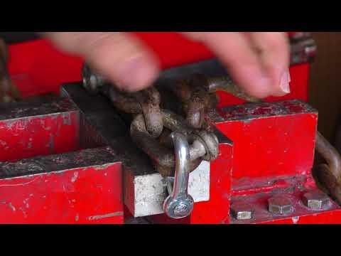 Shop Basics - Repairing a Logging Chain