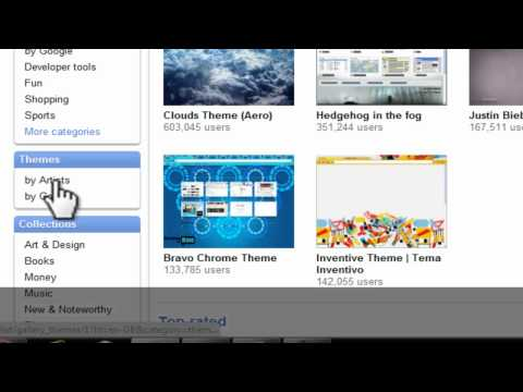 How to get free themes for Google Chrome
