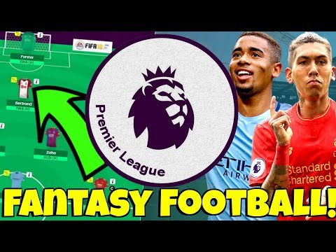MY 2017/18 PREMIER LEAGUE FANTASY FOOTBALL TEAM! JOIN MY LEAGUE! + MY UPDATED CHAMPIONSHIP TEAM!