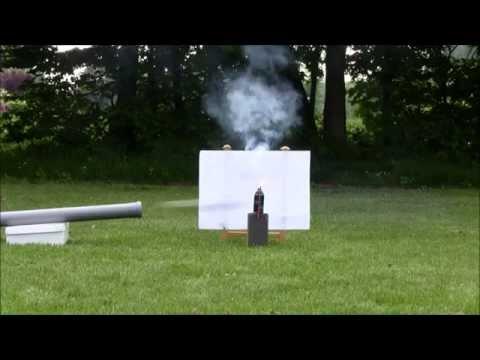 SPUD GUN vs. DEO + SPARKLER