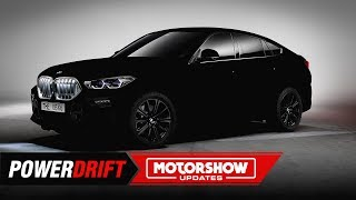 BMW X6 Vantablack : The blackest car in the world : IAA 2019 : PowerDrift