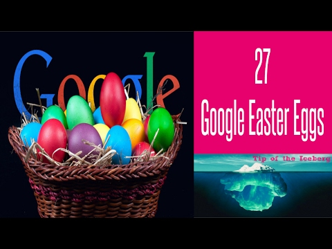 27 Secret Google Easter Eggs  - You Want to See!  🎲