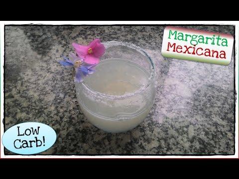 Batata Drinks: Margarita Mexicana Low Carb!