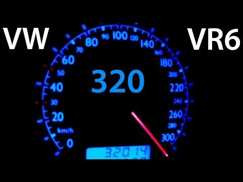 VW Bora VR6 Turbo 0-320 Acceleration Autobahn Onboard Turbo Gockel Beschleunigung Jetta