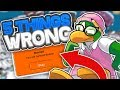 5 THINGS WRONG WITH CLUB PENGUIN REWRITTEN!